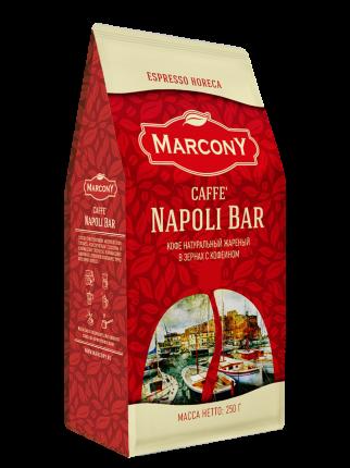 Кофе MarconY napoli bar  в зернах 250 г