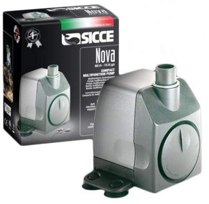 Помпа для аквариума подъемная SICCE Nova Pump, погружная, 800 л/ч, 10 Вт