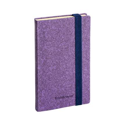 Ежедневник А5- недатированный ErichKrause® Ruggine фиолетовый на резинке тонирован бумага