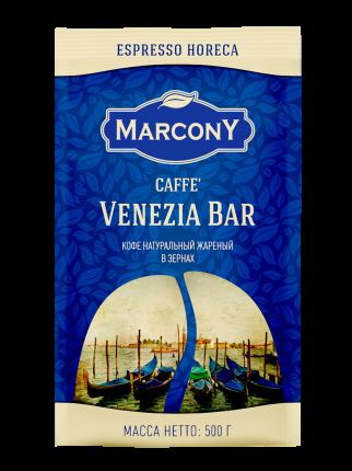 Кофе Marcony Venezia Bar в зёрнах 500 г
