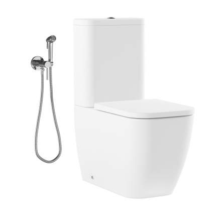 Комплект 2 в 1 Lavinia Boho One 21040002, сиденье, гигиенический душ