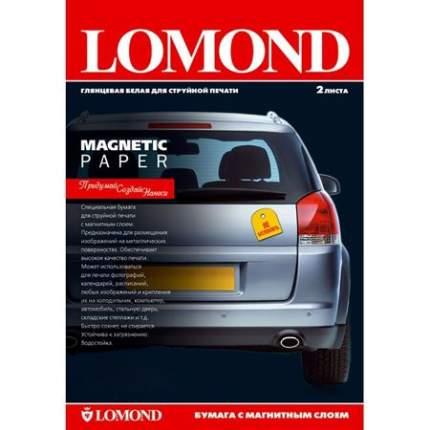 Фотобумага для принтера LOMOND A3 660г/кв.м глянцевая с магнитным слоем 2 л