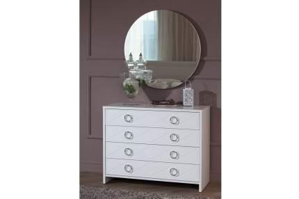 Зеркало настенное Hoff Лучидо 80291427 80х80 см, белый