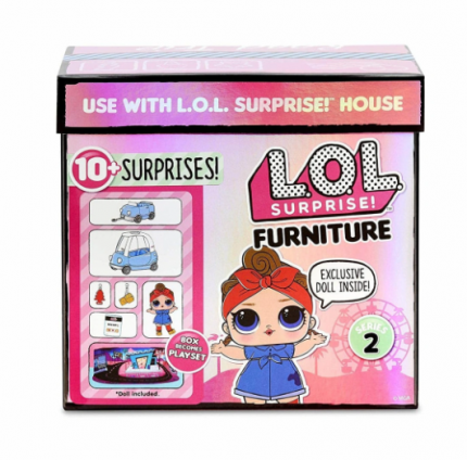 Игровой набор L.O.L. Surprise Furniture Road Trip with Can Do Baby 564928