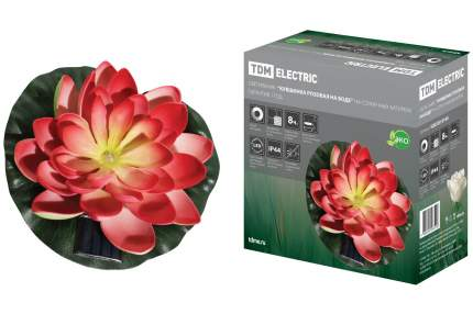 "Светильник TDM ELECTRIC ""Кувшинка розовая"" на солнечных батареях SQ0330-0140"