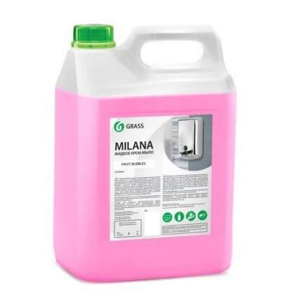Жидкое крем-мыло 'Milana' fruit bubbles (вкус жвачки) канистра 5 кг.