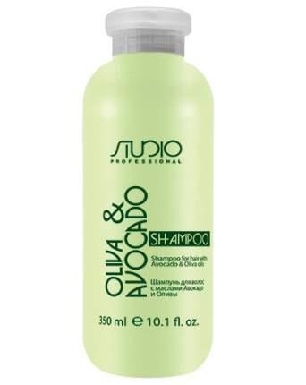 Шампунь Kapous Olive and Avocado Увлажняющий для Волос с Маслами Авокадо и Оливы, 350 мл
