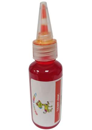 Краска для животных CRAZY LIBERTY Temp-Ink, смываемая, Оранжевая 30 мл