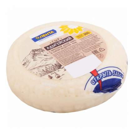 Сыр Лента Адыгейский 40% 300 г