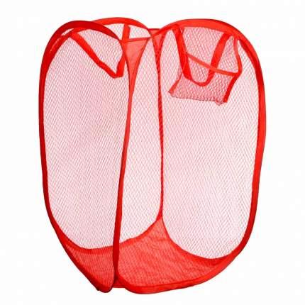 Складная корзина для игрушек Красная, 55х34 см