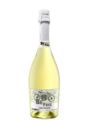Вино безалкогольное Be Free White Sparkling сладкое белое игристое Германия 0,75 л