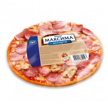 Пицца Максима ассорти замороженная 410 г