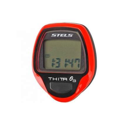 Велокомпьютер Stels Thita-3 red