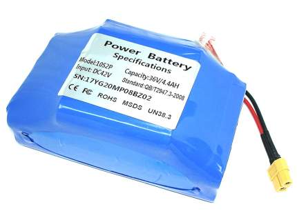 Аккумулятор Vbparts 10S2P 36V 4.4Ah Li-ion 020853