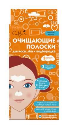 Очищающие полоски Cettua для носа, лба и подбородка 3+3 шт