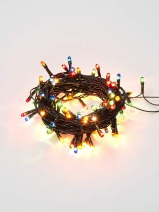Новогодняя электрическая гирлянда Uniel UDL-S0500-100/DGA 5 м разноцветный