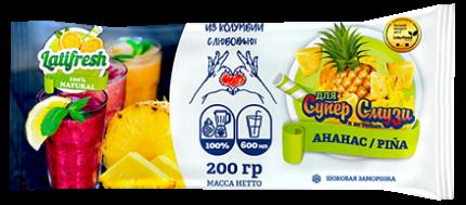 Мякоть ананаса Latifresh 200 г