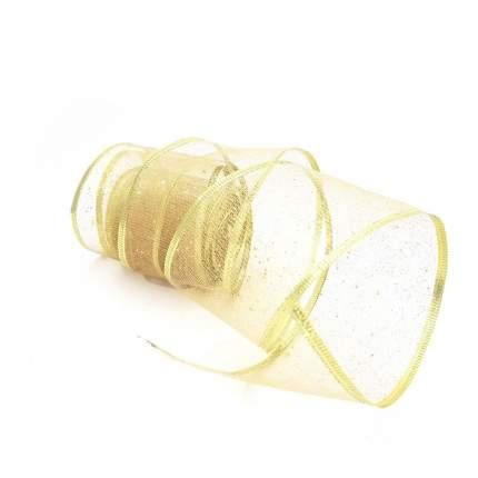 """Новогодняя лента """"Золотое конфетти"""", арт. 78641"""