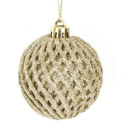 Шар на ель Monte Christmas Золотой шар N6510286 6 см 1 шт.