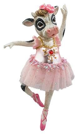 Елочная игрушка Holiday-Classics Корова-балерина Матильда 204936 14 см 1 шт.