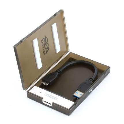 Внешний корпус для HDD/SSD AgeStar 3UBCP1-6G SATA Black