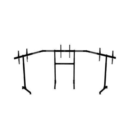 Отдельно стоящая подставка для трех мониторов