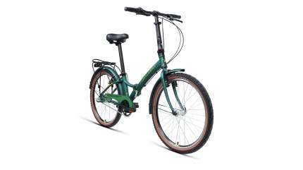 """Велосипед Forward Enigma 24 3.0 AL 2020 14"""" зеленый матовый/желтый"""