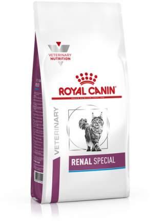 Сухой корм для кошек ROYAL CANIN Renal Special, при болезнях почек, свинина, 2кг