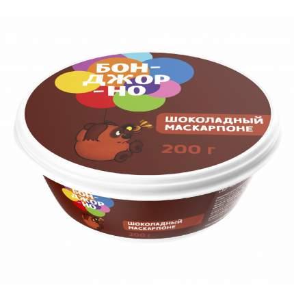 Сыр мягкий Бонджорно Маскарпоне с шоколадом 50% 200 г