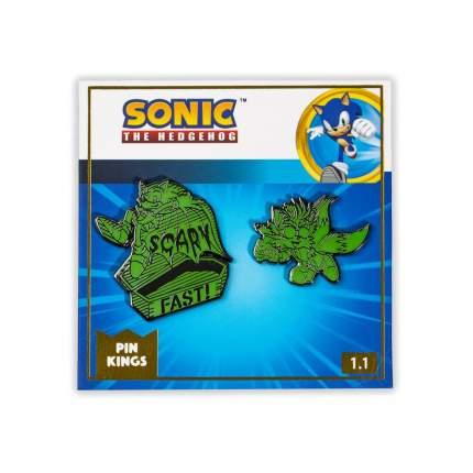 Значок Pin Kings Sonic the Hedgehog Dark Halloween 1.1 (набор из 2 шт.)