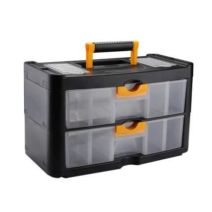 Ящик для инструментов DEKO DKTB19, 2 выдвижных ящика (40х20х24см) 065-0824