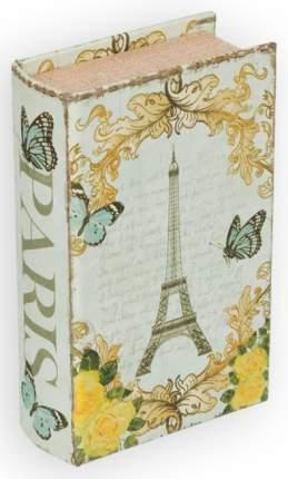 "Шкатулка-книга Gamma ""Письмо в Париж"", цвет: №058, 17х11х5 см, арт. BBK-01"