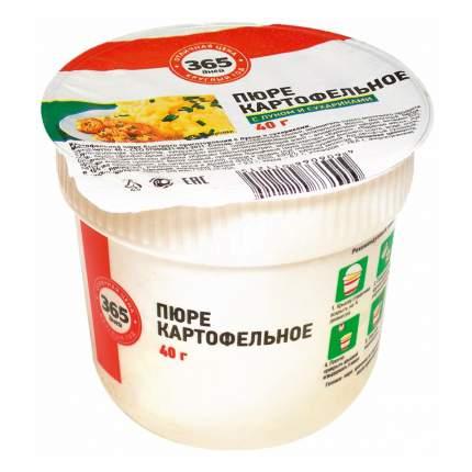 Пюре 365 Дней картофельное с жареным луком и сухариками