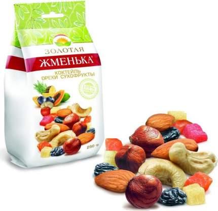 Фруктово-ореховая смесь Золотая Жменька 250 г