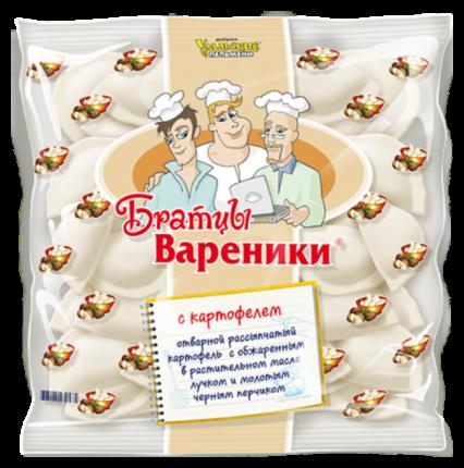 Вареники Уральские Пельмени Братцы с картофелем 350 г
