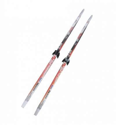 Лыжный комплект (лыжи + крепления) 75 мм 160 СТЕП (без палок) Sable snowway red