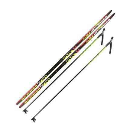 Лыжный комплект (лыжи + палки + крепления) NNN 170 (с палками) Step-in Sable Innovation