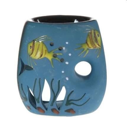 "Аромалампа ""Рыбки"" 11 см керамика"