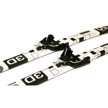 Лыжный комплект (лыжи + палки + крепления) 75 мм 150 СТЕП Cadet black/white