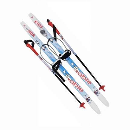 Лыжный комплект с кабельным креплением 130 STC степ Sable Kids blue
