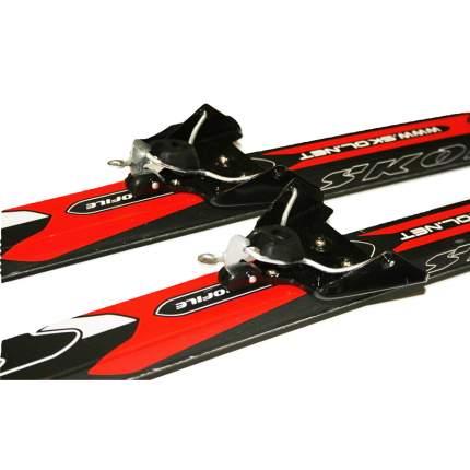 Лыжный комплект (лыжи + палки + крепления) 75 мм 200 Skol electra red