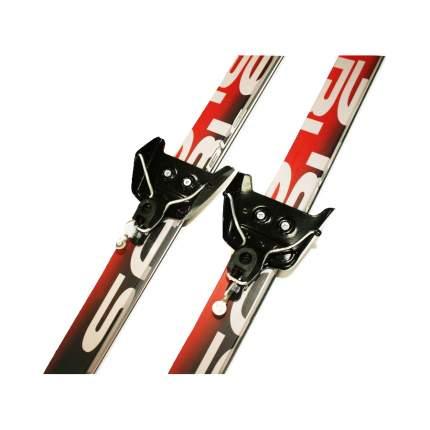 Лыжный комплект (лыжи + палки + крепления) 75 мм 195 Sable snowway red