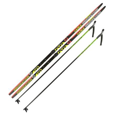 Лыжный комплект (лыжи + палки + крепления) NNN 205 (с палками) Step-in Sable Innovation