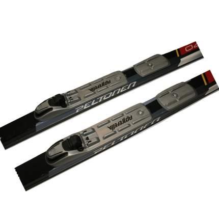 Лыжный комплект (лыжи + палки + крепления) NNN 205 Step-in Peltonen delta black/red/white