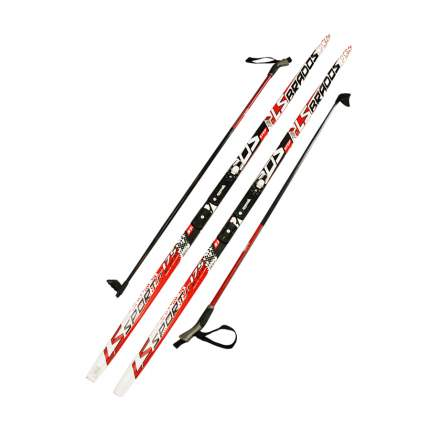 Лыжный комплект (лыжи + палки + крепления) NNN 170 СТЕП Step-in Brados LS Sport red