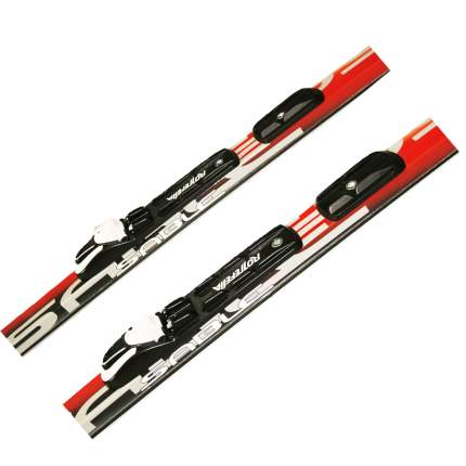 Лыжный комплект (лыжи + палки + крепления) NNN 185 СТЕП Step-in Sable snowway red