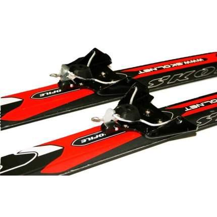 Лыжный комплект (лыжи + крепления) 75 мм 200 СТЕП Skol electra red (без палок)