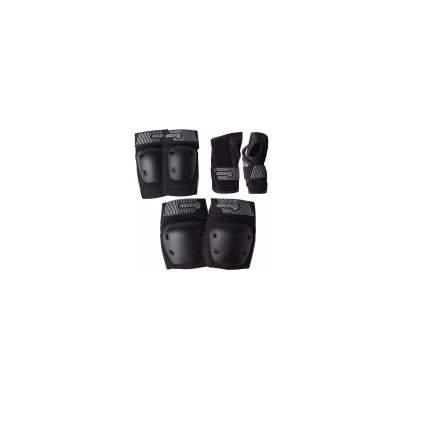 Комплект защиты Sector9 Pursuit Jr Pad S, black, L/XL