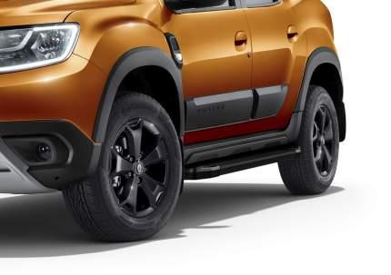 "Пороги ""Black"" Rival Nissan Terrano 14-/Renault Arkana 19-/Duster 10-/Kaptur 20-"