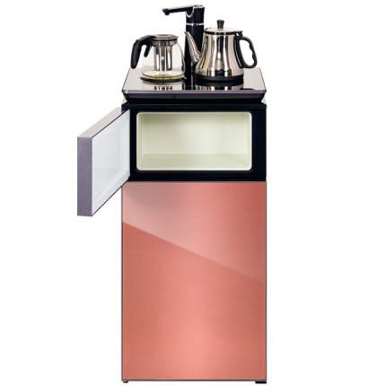 Кулер с чайным столиком (тиабар) Hiberg F-91FGP Pink